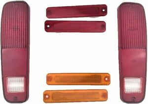 73 79 Ford F 150 F150 F250 Truck 78 79 Bronco Tail Light And Side Fender Kit 6pc