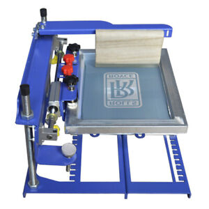 Manual Cylinder Screen Printing Machine Bottle Cup Printer Customize Gift