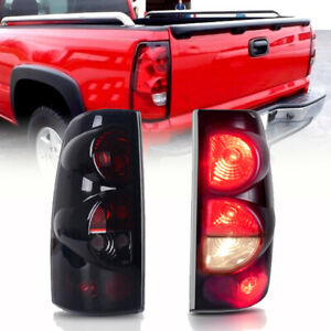 For 99 06 Chevy Silverado 99 03 Gmc Sierra Rear Lamps Tail Lights Replacement