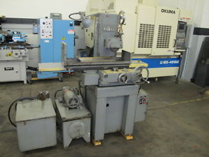 Doall Dh 618 2 axis Automatic Horizontal Surface Grinder