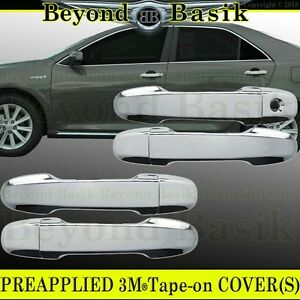2012 2013 2014 2015 2016 2017 Toyota Camry Chrome Door Handle Covers W O Smrt Kh