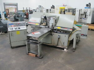 Marvel 15a9pc Programmable Automatic Horizontal Band Saw