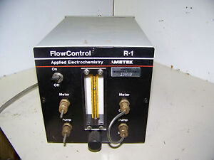 Ametek R 1 Flow Control For Oxygen Analyzer Applied Electrochemistry 1000 Cc min