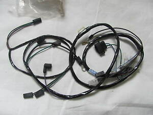 1971 Dodge Plymouth E Body 318 340 New Engine Wiring Harness With Points