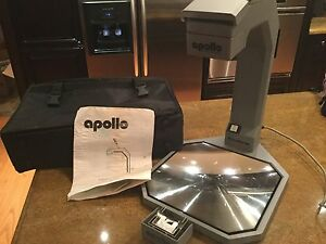 Apollo Cobra Vs 3000 Portable Overhead Projector Only 8 Pounds