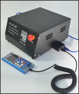 Usb Cnc Router Box 4 Axis Stepper Motor Driver manual Controller mach3 Adapter