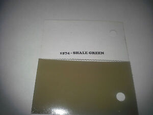 High Gloss Shale Green Quart Single Stage Acrylic Enamel Car Auto Paint Only