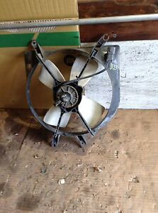1996 1997 1998 1999 2000 Honda Civic Sedan Coupe Radiator Cooling Fan Assembly