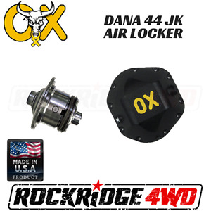 Ox Air Locker Dana 44 Jeep Wrangler Jk Non Rubicon 35 Spline Differential Cover