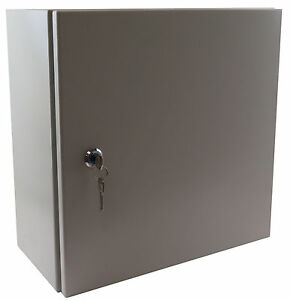 Yuco 16 12 8 Metal Nema Type 4 Enclosure W B Pl Yc 16x12x8 el 2 kf With Lock