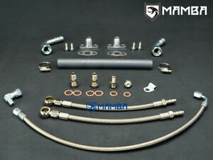 Mazdaspeed 3 6 Cx 7 Garrett Gt28r Gt30r Ball Bearing Turbo Oil Water Line Kit