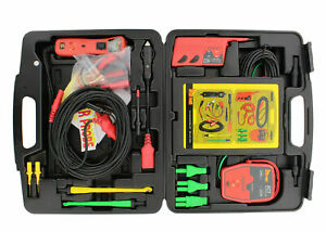 Power Probe Master Technician Kit 12 24v Gold Lead Set Short Meter Ppkit03