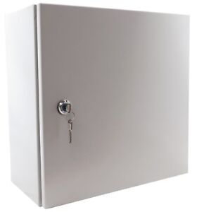 Yuco 12 12 8 Metal Nema Type 4 Enclosure Yc 12x12x8 ul el 2 kf With Lock