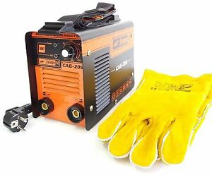 Welding Inverter Machine 205a Gloves Arc Force Hot Start Anti Stick Stand By