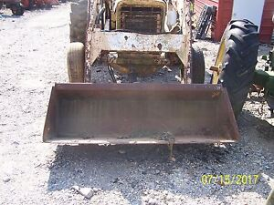 Loader For International 656 Utility And Other Tractors quick Attache