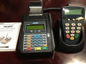 Tpg Hypercom T7 Plus Credit Card Terminal P1300 Keypad Power Supply Manual