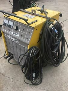 Esab Welder V 650 Cvcc Mig 35 Esab Esab Power Supply