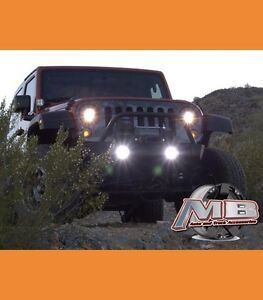 Morimoto Xb Led Projector Led Clear Fog Light 2007 2017 Jeep Wrangler Jk Pair