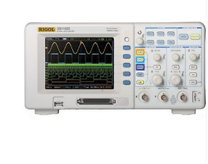 Rigol Ds1102d 100mhz Digital Oscilloscope 2 Analog Channels 100mhz Bandwidth
