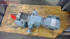 Sew Eurodrive Dft71d 4 Variable Speed Gear Motor 0 37 Kw 277 480 Volts