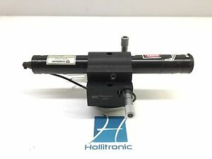 Uniphase 102 3 Helium neon Laser Head 4mw W Nrc 813 Holder Hv Connector