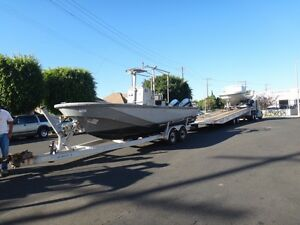 Boston Whaler Year 1989 22 Ft Dive Utility Boat With Trailer