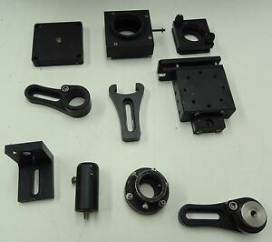 Lot Of Optical Variety Of Optical Equipment Precision Holders Laboratory Laser 3