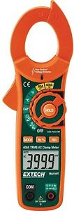 True Rms Ac And Ncv Clamp Meter Lcd Display Auto Ranging Handheld 400 Amp