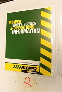 Alamo Interstater Mower Flail Operator s Parts Manual 803213