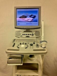 Ge Logiq A5 Ultrasound Machine With 4c Abdominal And E8c Transvaginal Probes