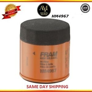 Case Of 6 Hm4967 Oil Filter Toyota Camry Daihatsu Charade 1 6l 2 0l 2 2l