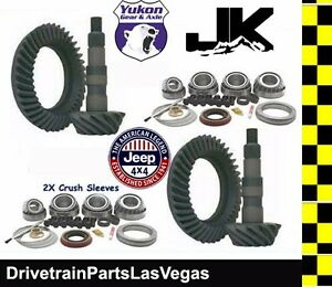 Yukon Jeep Wrangler Jk Ring And Pinion Master Gear Pkg 07 16 Dana 44