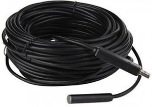 Pipe Inspection Camera Hd 720p Usb Endoscope Video Sewer Drain Waterproof 100 Ft