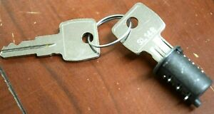 Lot Of 10 File Cabinet Desk Key With Lock Cores Sl135