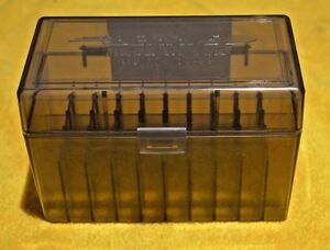 BERRY'S PLASTIC AMMO (1) 50 Round Storage Boxes For .25-06 Rifle FREE SHIPPING