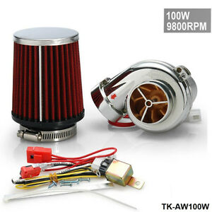 Electric Turbo Supercharger Kit Universal Fit Ride On Mower
