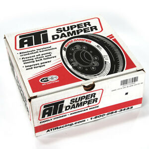 Ati Harmonic Balancer 918900 Super Damper 6 325 Ext For Ford 289 302 351w Sbf