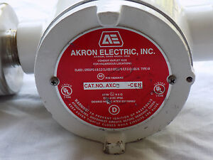 Akron Electric Conduit Outlet Box Axc cen Without Msa Ultima Xe Sensor