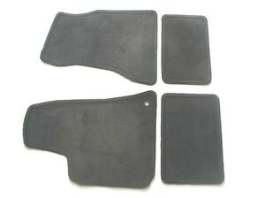 06 07 08 09 10 Chrysler 300 Dodge Magnum Charger Black Carpet Floor Mats Rugs 8