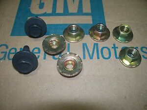 Seat Track Bolts Chevy Gs Chevelle Skylark Gto 68 69 70 71 72 67 66 65 64 Judge