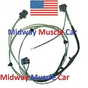 Front Headlight Extension Wiring Harness Chevy Pickup Truck Suburban 63 66