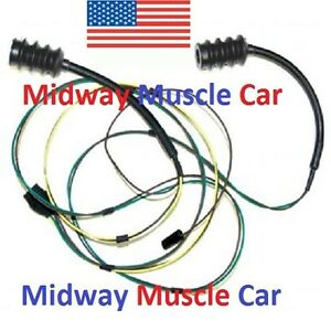 Rear Body Taillight Wiring Harness Chevy Pickup Truck 63 66