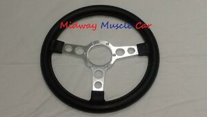New Formula Steering Wheel Silver Spoke 70 81 Pontiac Firebird Trans Am Firebird