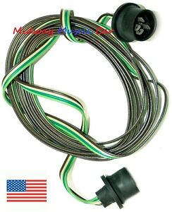 Rear Body Intermediate 67 72 Wiring Harness Chevy Long Bed Pickup Truck