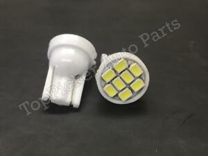 For 1988 2013 Chevy Gmc Pickup 2004 12 Colorado T10 Wedge Led White License Bulb