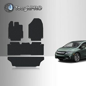 Toughpro Floor Mats 3rd Row Black For Honda Odyssey All Weather 2018 2021