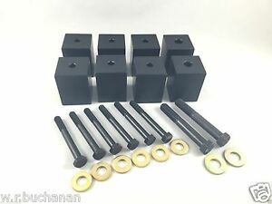 Jeep Seat Riser Seat Lift Kit All 1997 2006 Tj Wrangler 2 Kit For Front Seats