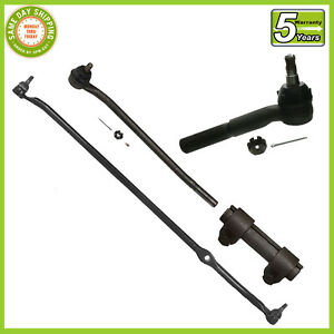 4 Pc Kit Steering Parts F100 F250 65 71 Rwd Center Link Tie Rod Ends Sleeve