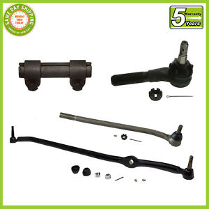 4 Pc Kit Steering Parts F100 F250 73 79 Rwd Center Link Tie Rod Ends Sleeve