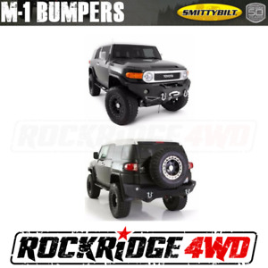 Toyota Fj Cruiser Smittybilt Front Rear Bumper Set Winch Not Included
